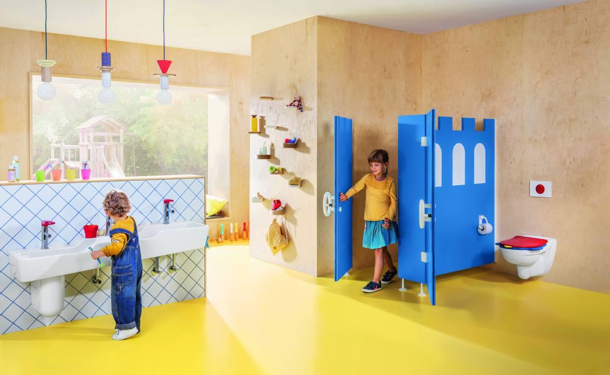 Villeroy & Bochi uus O.novo Kids vannitoasisustus
