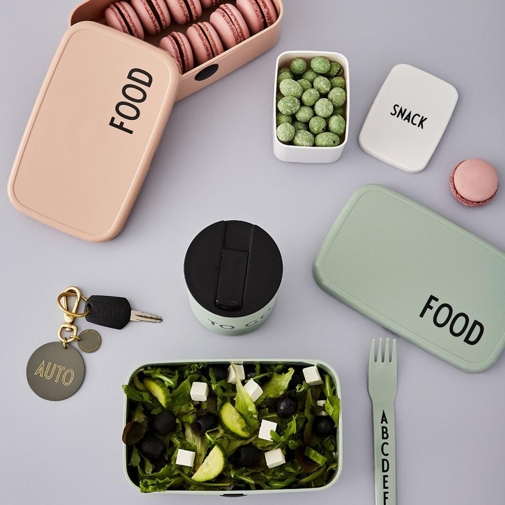 Food & Lunch toidukarbid ja Snack suupistete karbike. Tootja Design Letters