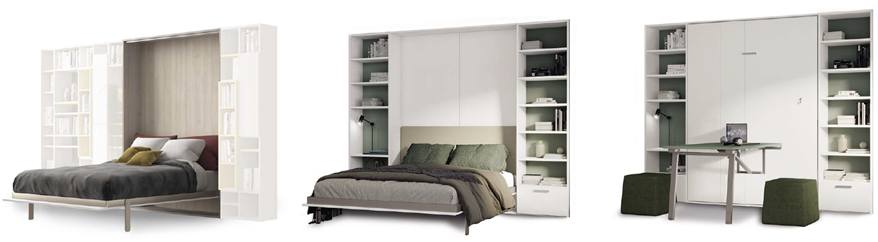 Kappvoodi - ruumisäästlik mööbel elu- ja magamistuppa