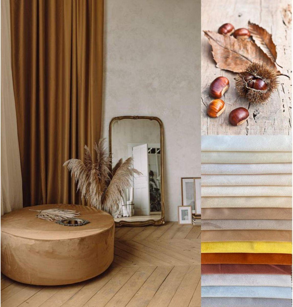 Via Roma 60 ELSA VELVET pastelses värvigammas sametid - Fabricor