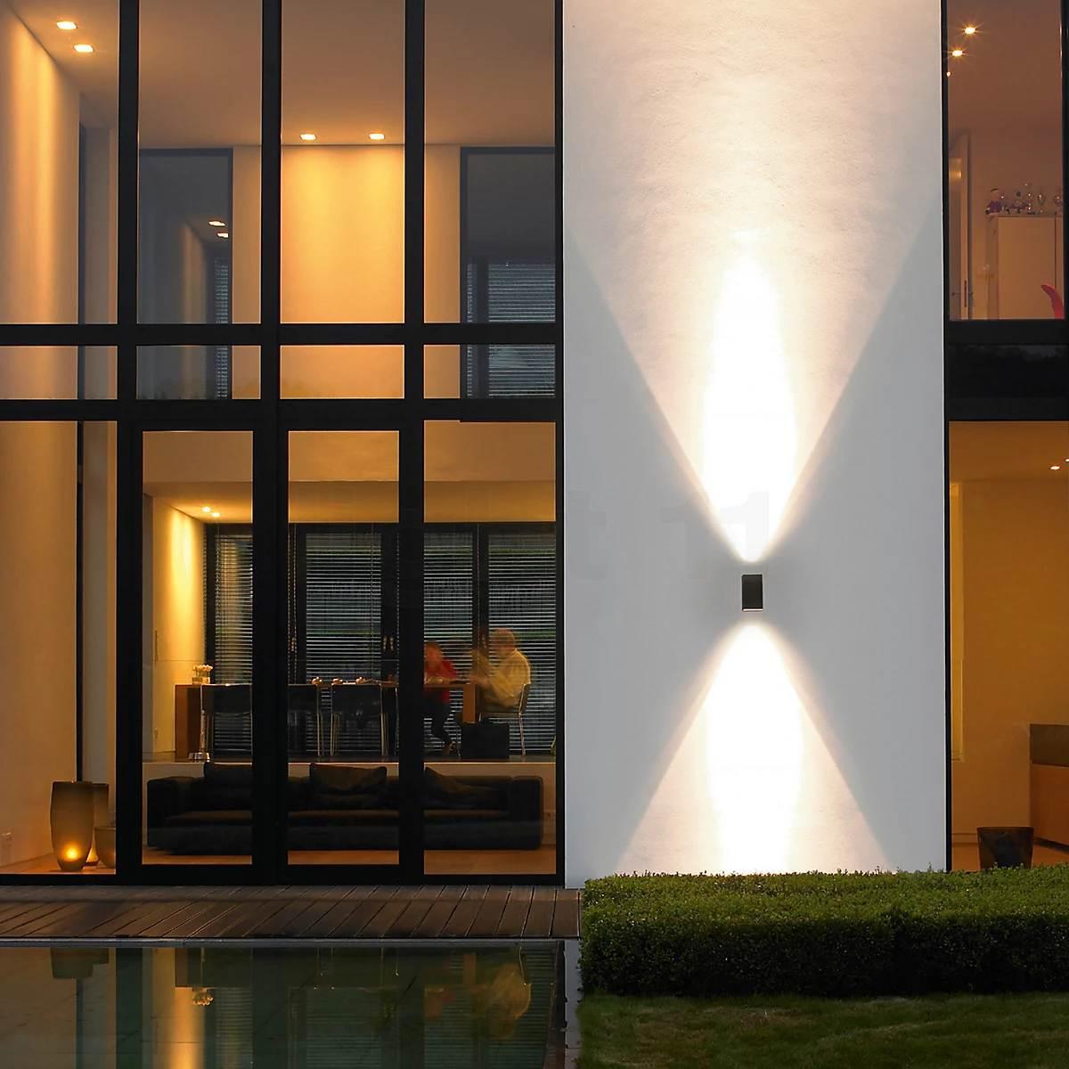 Sise- ja välisvalgustuse koosmõjus - Bega 33591 LED Wall Light