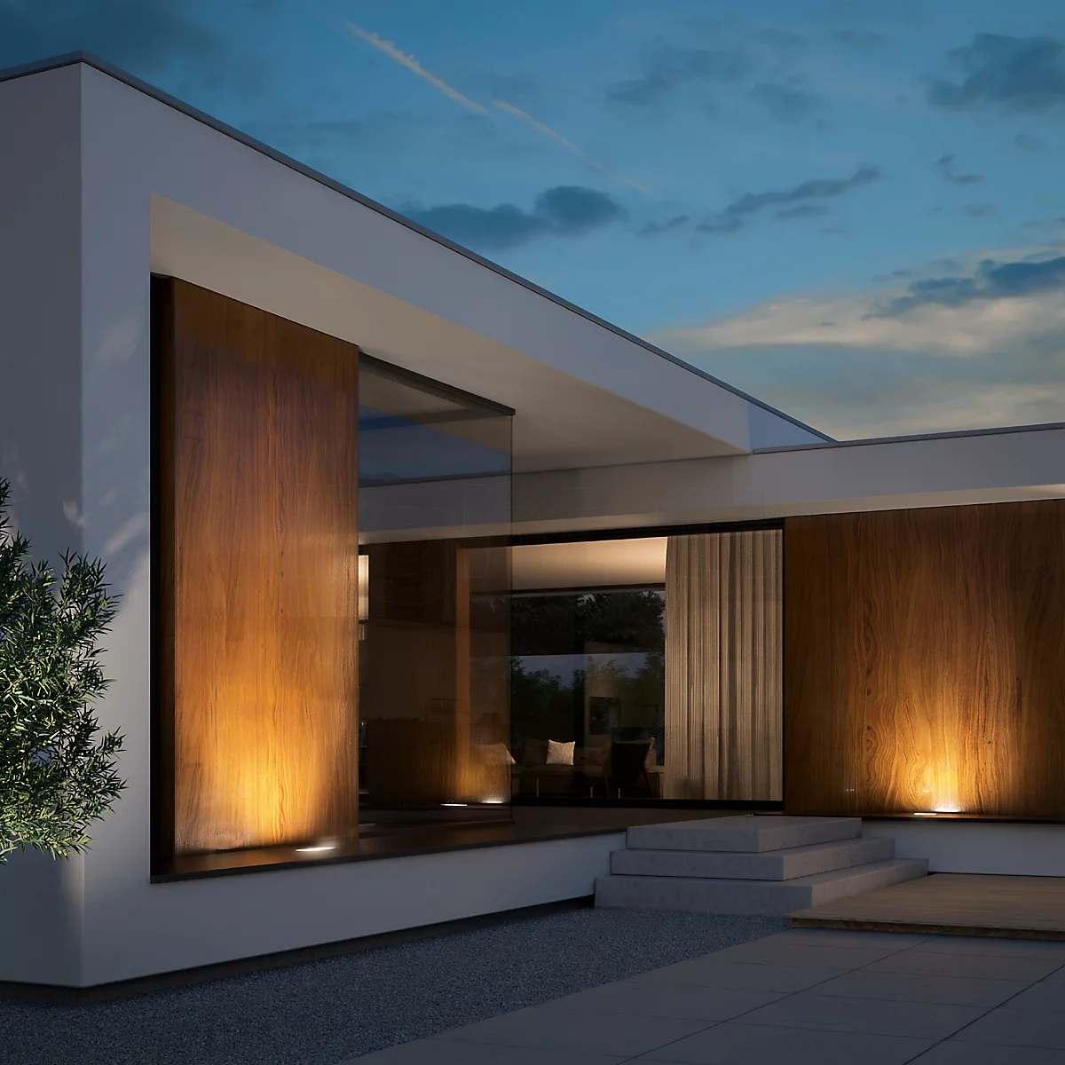 Alt ülesse valgustatud fassaad - Bega 84088 recessed Floor Light LED