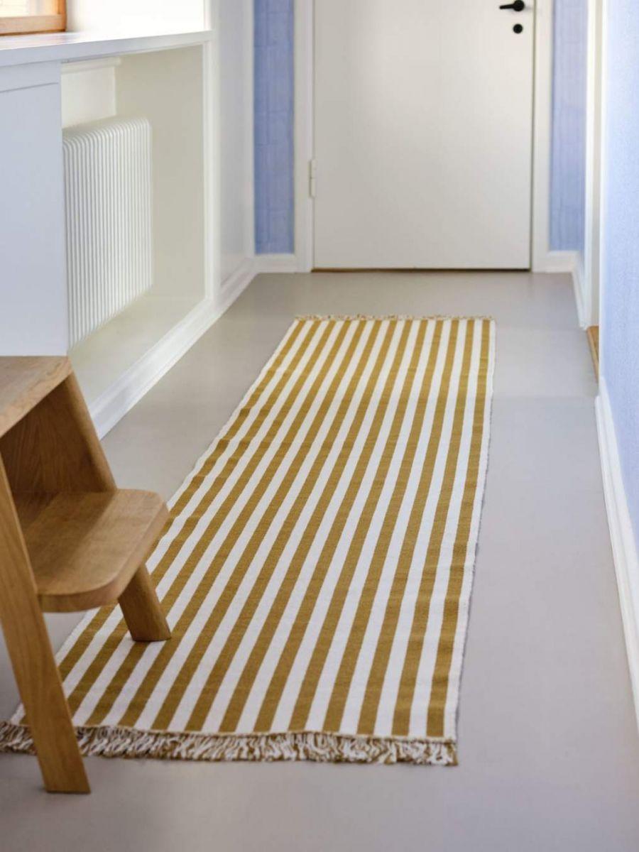 Paljudes värvikombinatsioonides piklikud Stripes And Stripes vaibad on ideaalsed esikusse, vannitup-pa, magamistuppa ja mujalegi. Tootja: HAY
